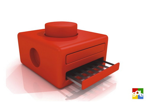red lego toaster