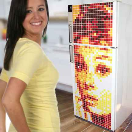 cool refrigerator magnet artwork