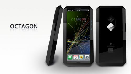 octagon cellphone design