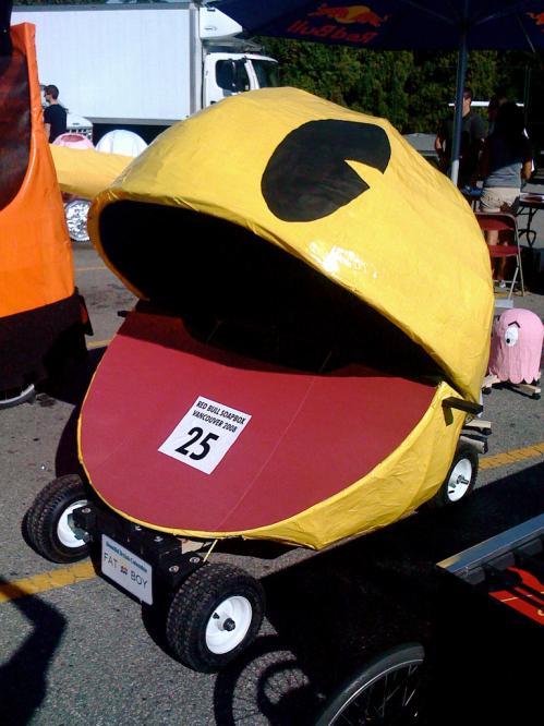 funny pacman car design