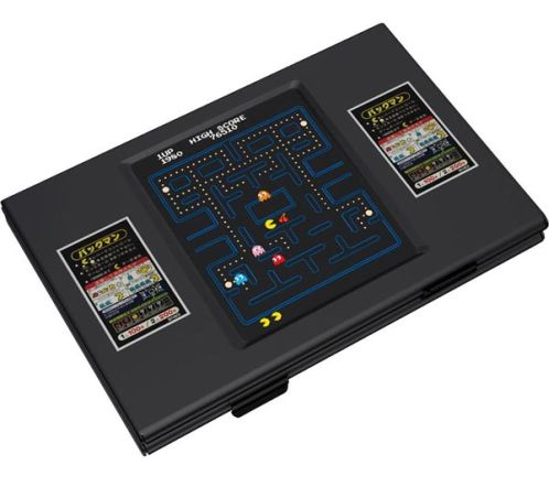 pacman game business card holder