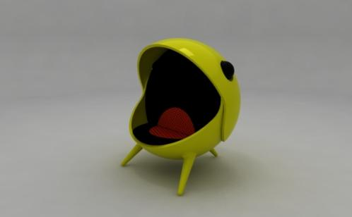 Pacman Game Chair