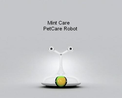 pet care robot design