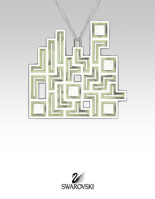 new tetris swarovski jewelry