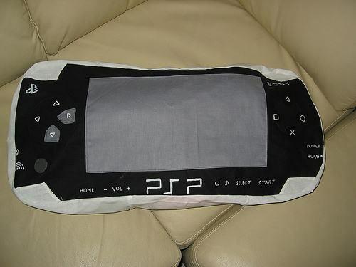 cool sony psp pillow design