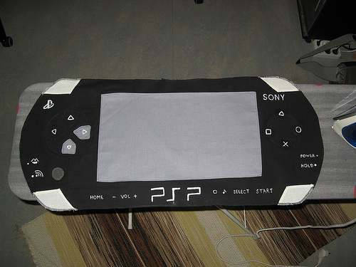 cool psp designed pillow