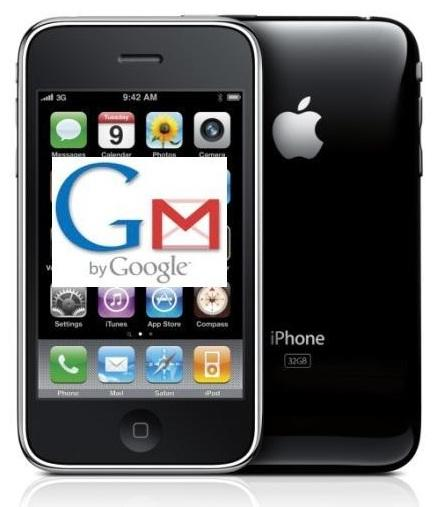 push gmail for iphone