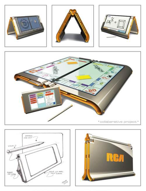 rca board game digital concept