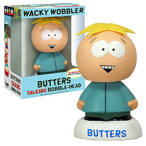 south park butters talking bobble head