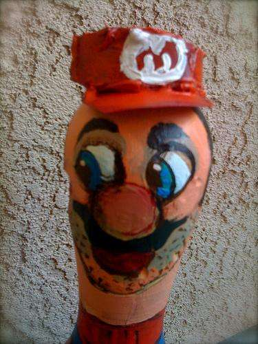 super mario brothers bowling pins