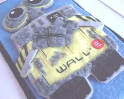 new iphone case wall-e animation