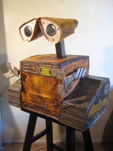 Wall-E Pinata craft