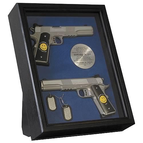 the watchmen comedian gun