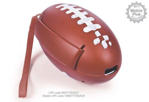 wii football controller accessory