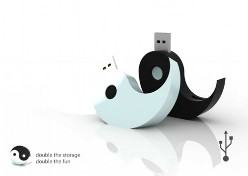 yin yang usb flash drives