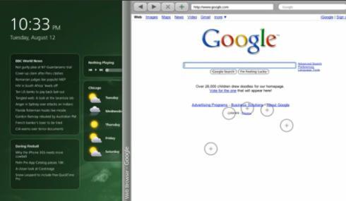 10 GUi touchscreen continuum
