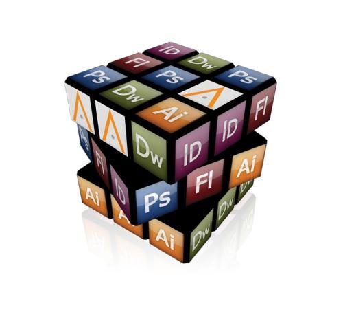 adobe cs3 icons rubik'c cube