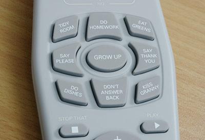 funny kid remote control