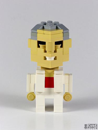 big lebowski jackie treehorn lego art
