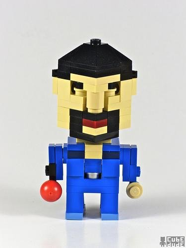 big lebowski jesus lego art