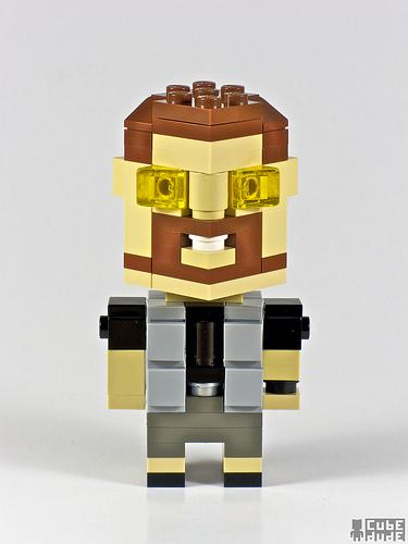 big lebowski walter sobchak lego art