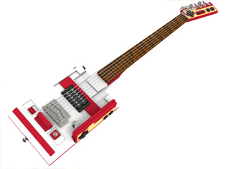 cool nes guitar mod