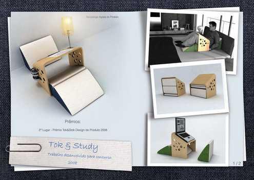 geek study desk tok & study