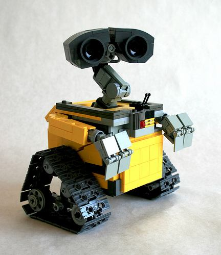 wall e lego adaptation