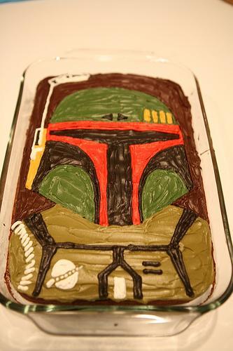 boba fett pretty cake