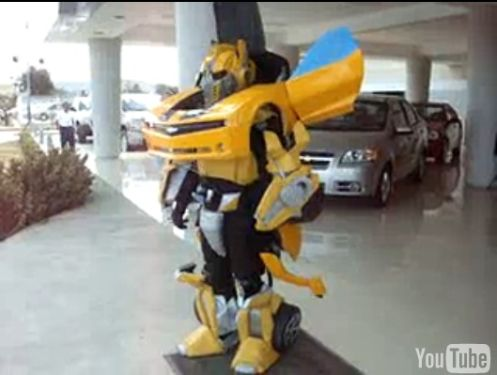 bumblebee transformer costume halloween