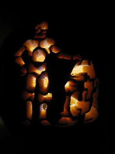 c3po r2d2 pumpkin carving