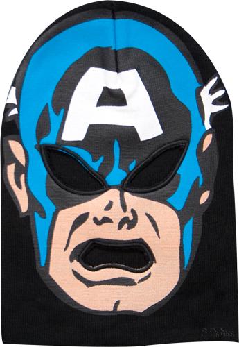 captain america ski mask