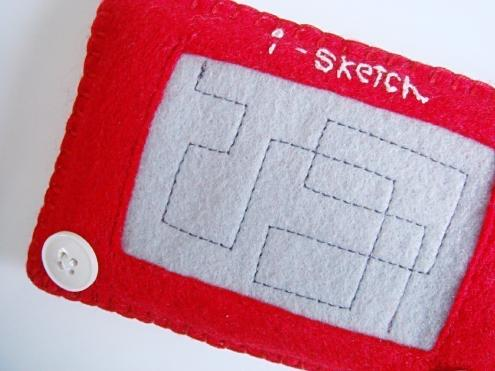 cool etch a sketch iphone case