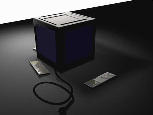 video game box concept design