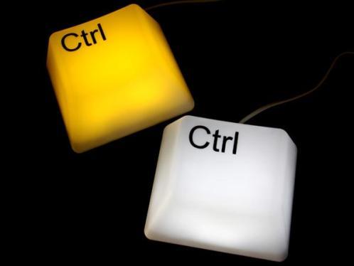 ctrl button lamp