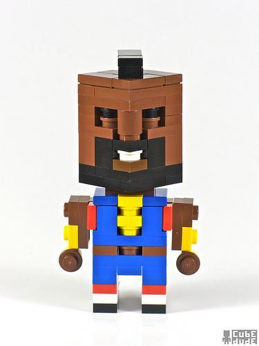 a team ba baracus lego character