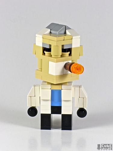 a team hannibal lego character