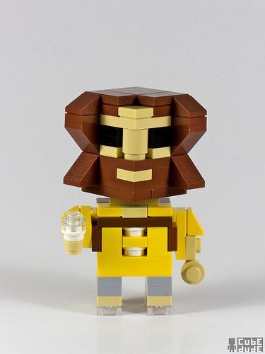 big lebowski dude lego art