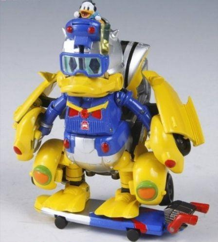 donald duck transformers toy