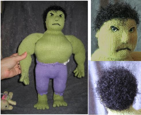 incredible hulk doll