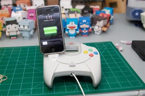 iphone dock sega dreamcast controller