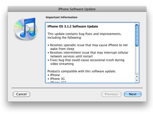 iphone os 3.1.2 firmware update