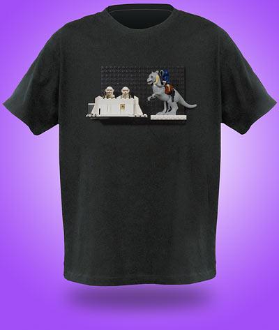 lego star wars tauntaun shirt