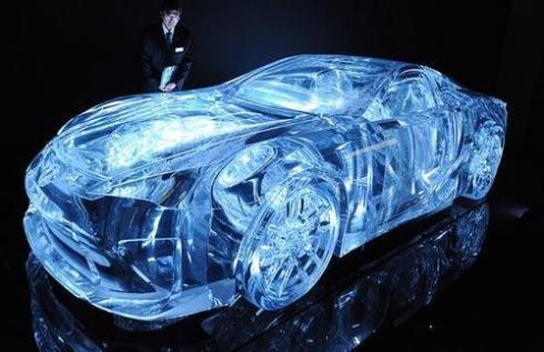 lexus transperant car