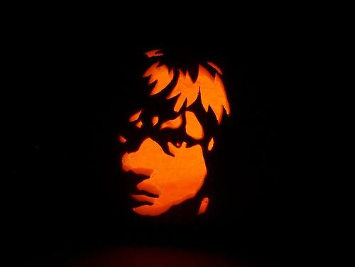 luke skywalker pumpkin face