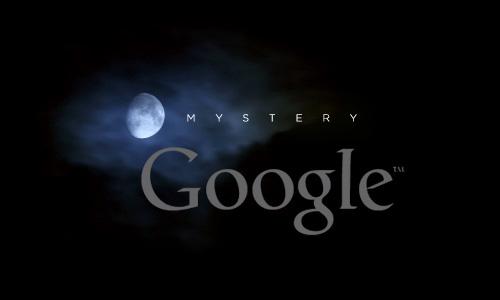mystery google logo