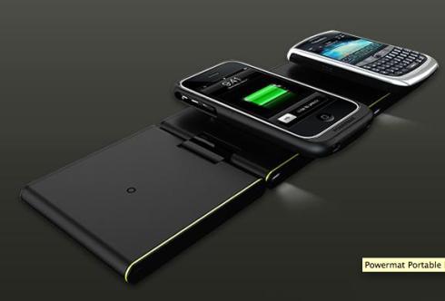powermat portable charging station