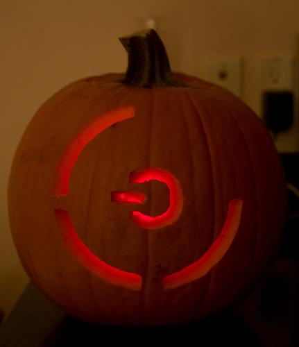red ring of death pumpkin carving
