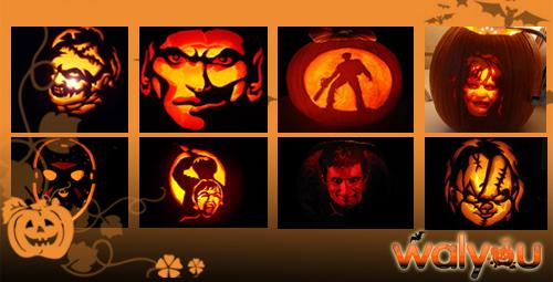 scary halloween pumpkins horror movies