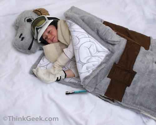 star wars tauntaun sleeping bag design